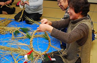 日本春節結繩製作體驗