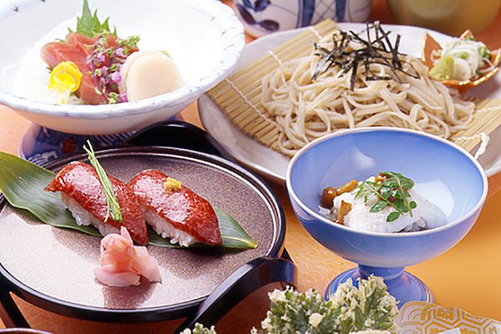 前沢牛的握壽司二塊(¥2700)