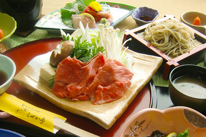 入口即化的前沢牛涮涮鍋(¥3780)
